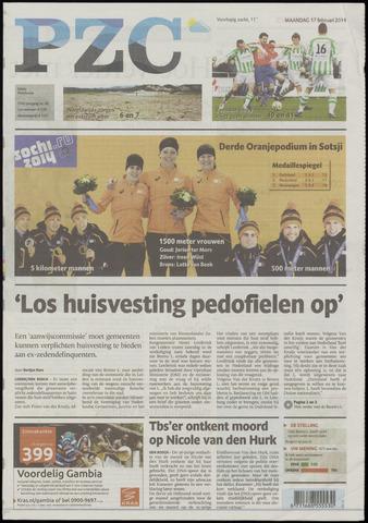 Provinciale Zeeuwse Courant 2014-02-17