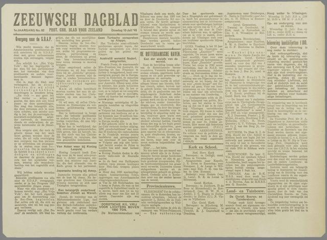Zeeuwsch Dagblad 1945-07-10