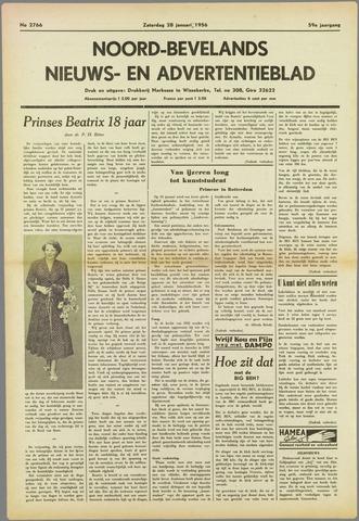 Noord-Bevelands Nieuws- en advertentieblad 1956-01-28