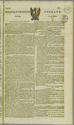 Middelburgsche Courant 1825-03-05
