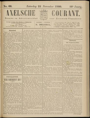 Axelsche Courant 1900-11-24