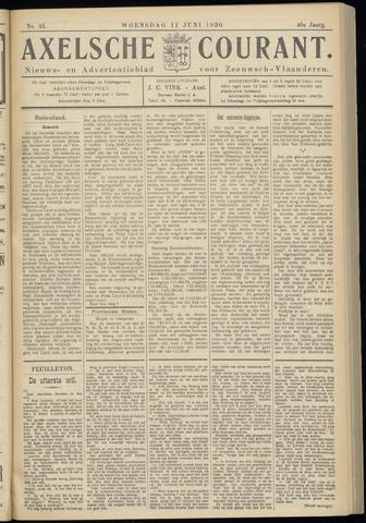Axelsche Courant 1930-06-11