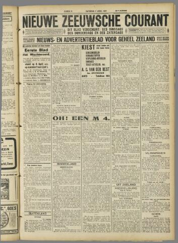 Nieuwe Zeeuwsche Courant 1927-04-02