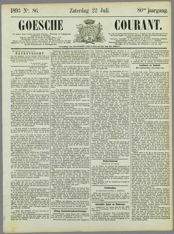 Goessche Courant 1893-07-22