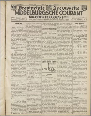 Middelburgsche Courant 1933-11-07