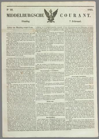 Middelburgsche Courant 1865-02-07