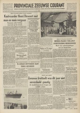 Provinciale Zeeuwse Courant 1954-12-23