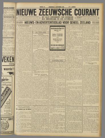 Nieuwe Zeeuwsche Courant 1931-09-03