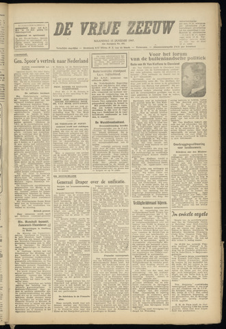 de Vrije Zeeuw 1947-01-13