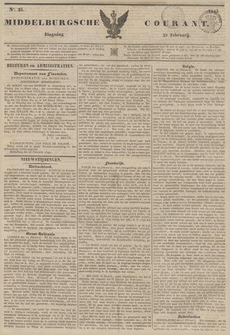 Middelburgsche Courant 1843-02-28