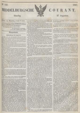 Middelburgsche Courant 1867-08-27