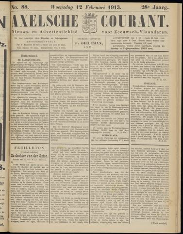Axelsche Courant 1913-02-12