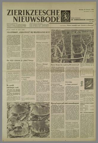 Zierikzeesche Nieuwsbode 1963-02-19