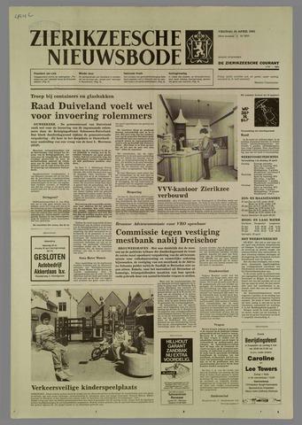 Zierikzeesche Nieuwsbode 1985-04-26