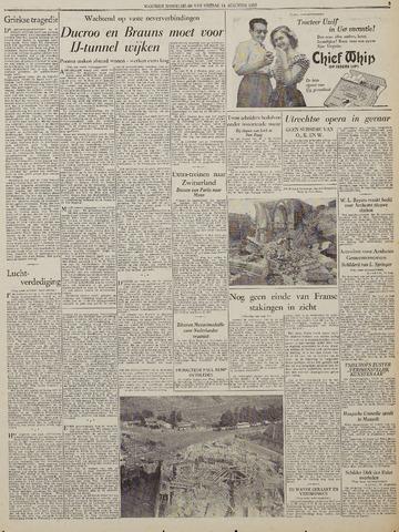 Watersnood documentatie 1953 - kranten 1953-08-14