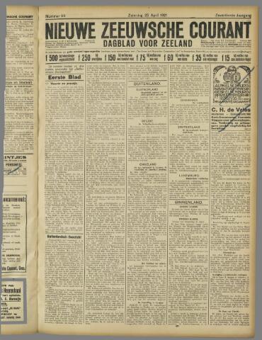 Nieuwe Zeeuwsche Courant 1921-04-23