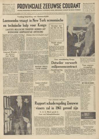 Provinciale Zeeuwse Courant 1960-07-25