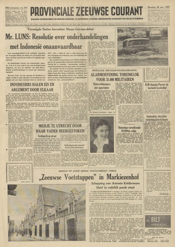 Provinciale Zeeuwse Courant 1957-11-26