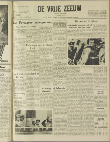 de Vrije Zeeuw 1961-07-11