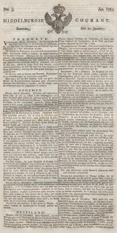 Middelburgsche Courant 1761-01-10