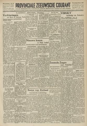 Provinciale Zeeuwse Courant 1947-01-29