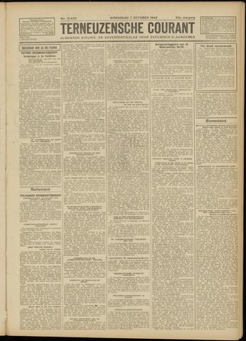 Ter Neuzensche Courant. Algemeen Nieuws- en Advertentieblad voor Zeeuwsch-Vlaanderen / Neuzensche Courant ... (idem) / (Algemeen) nieuws en advertentieblad voor Zeeuwsch-Vlaanderen 1942-10-07