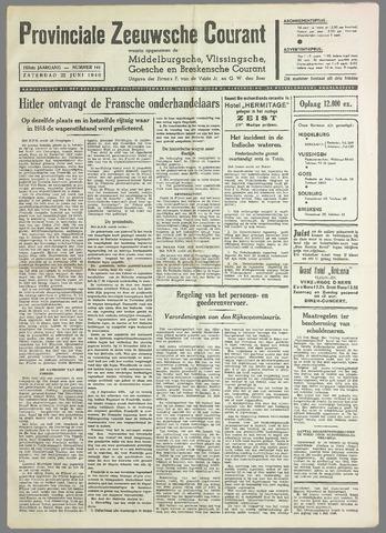 Provinciale Zeeuwse Courant 1940-06-22