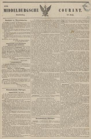 Middelburgsche Courant 1852-06-24