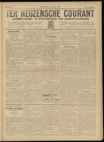 Ter Neuzensche Courant. Algemeen Nieuws- en Advertentieblad voor Zeeuwsch-Vlaanderen / Neuzensche Courant ... (idem) / (Algemeen) nieuws en advertentieblad voor Zeeuwsch-Vlaanderen 1932-06-08