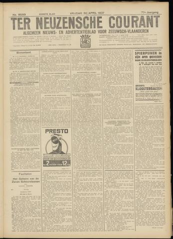 Ter Neuzensche Courant. Algemeen Nieuws- en Advertentieblad voor Zeeuwsch-Vlaanderen / Neuzensche Courant ... (idem) / (Algemeen) nieuws en advertentieblad voor Zeeuwsch-Vlaanderen 1937-04-30