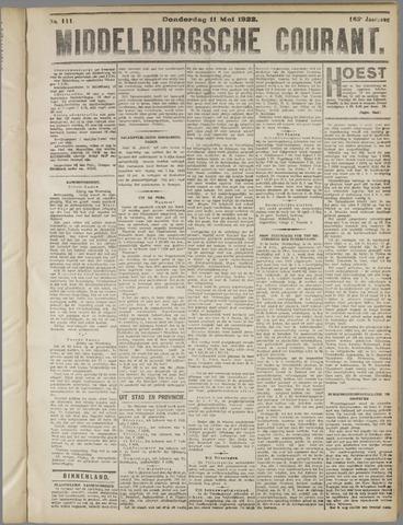 Middelburgsche Courant 1922-05-11