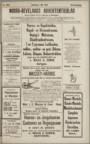 Noord-Bevelands Nieuws- en advertentieblad 1926-05-01