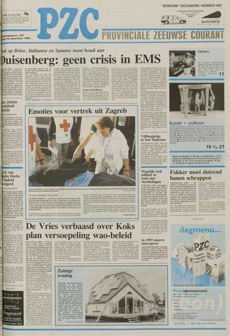 Provinciale Zeeuwse Courant 1992-09-18
