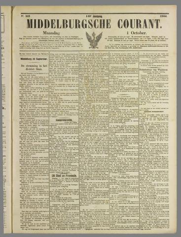 Middelburgsche Courant 1906-10-01