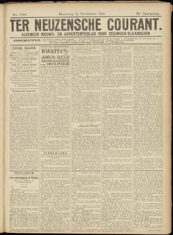 Ter Neuzensche Courant. Algemeen Nieuws- en Advertentieblad voor Zeeuwsch-Vlaanderen / Neuzensche Courant ... (idem) / (Algemeen) nieuws en advertentieblad voor Zeeuwsch-Vlaanderen 1926-11-22