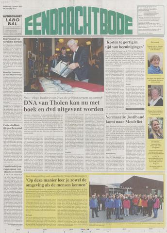 Eendrachtbode (1945-heden)/Mededeelingenblad voor het eiland Tholen (1944/45) 2012-01-05