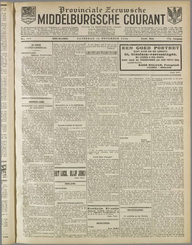 Middelburgsche Courant 1930-11-15