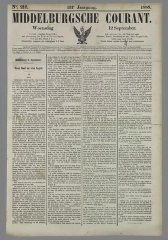 Middelburgsche Courant 1888-09-12