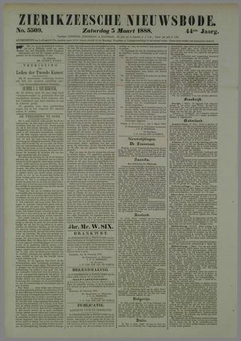 Zierikzeesche Nieuwsbode 1888-03-03