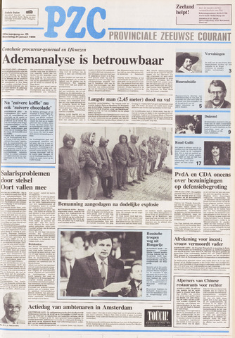 Provinciale Zeeuwse Courant 1990-01-24