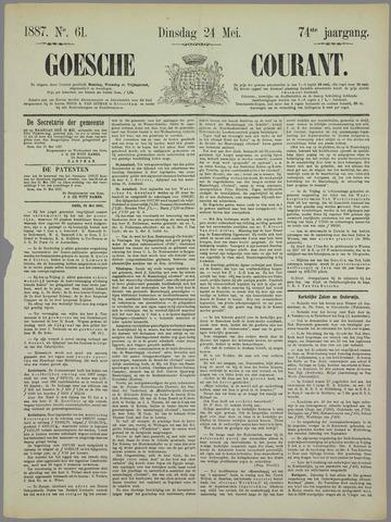 Goessche Courant 1887-05-24