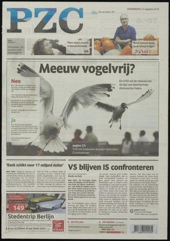 Provinciale Zeeuwse Courant 2014-08-21