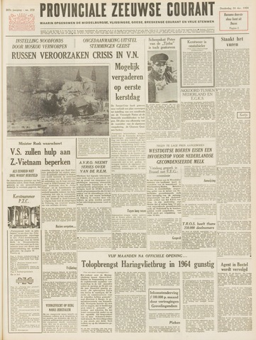 Provinciale Zeeuwse Courant 1964-12-24