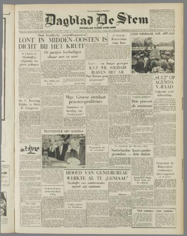 de Stem 1956-09-27
