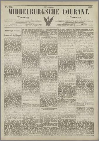 Middelburgsche Courant 1895-11-06