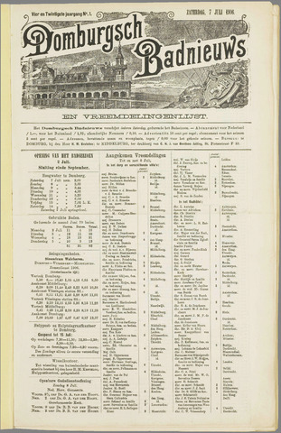 Domburgsch Badnieuws 1906