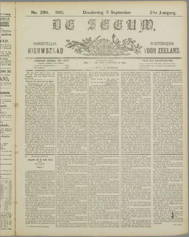 De Zeeuw. Christelijk-historisch nieuwsblad voor Zeeland 1910-09-08
