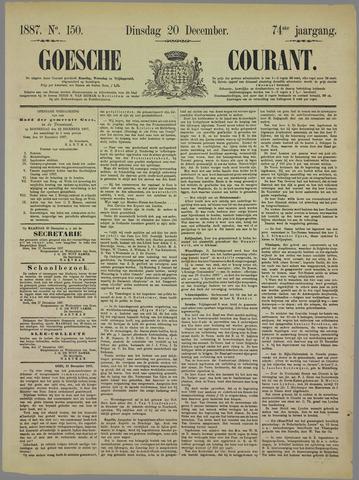 Goessche Courant 1887-12-20