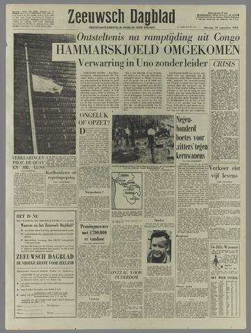 Zeeuwsch Dagblad 1961-09-19