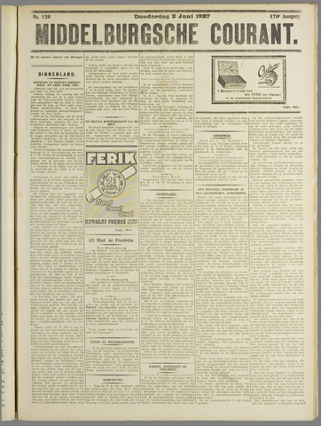Middelburgsche Courant 1927-06-02